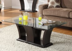 Daisy Espresso Cocktail Table Available Online in Dallas Fort Worth Texas