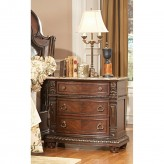 Homelegance Palace Marble Top Night Stand Available Online in Dallas Fort Worth Texas