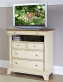 Inglewood White Media Chest Available Online in Dallas Fort Worth Texas