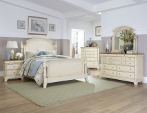 Inglewood White King 5pc Panel Bedroom Group Available Online in Dallas Fort Worth Texas