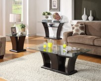 Daisy 3pc Espresso Coffee Table Set Available Online in Dallas Fort Worth Texas