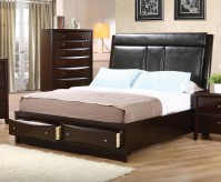 Coaster Phoenix Cal King Flip Down Console Platform Bed Available Online in Dallas Fort Worth Texas