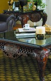 Homelegance Gladstone Cherry End Table Available Online in Dallas Fort Worth Texas