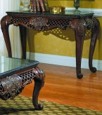 Gladstone Cherry Sofa Table Available Online in Dallas Fort Worth Texas