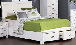 Homelegance Lyric White Queen Bed Available Online in Dallas Fort Worth Texas