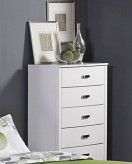 Homelegance Lyric White Chest Available Online in Dallas Fort Worth Texas