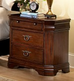 Homelegance Karla Cherry Night Stand Available Online in Dallas Fort Worth Texas