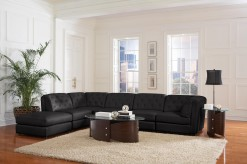 Quinn Black 6pc Sectional Available Online in Dallas Texas