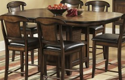 Homelegance Westwood 7pc Napoleon Counter Height Set Available Online in Dallas Fort Worth Texas