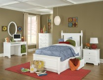 Morelle White Full 5pc Storage Bedroom Group Available Online in Dallas Fort Worth Texas