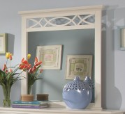 Homelegance Sanibel White Mirror Available Online in Dallas Fort Worth Texas