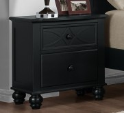 Homelegance Sanibel Black Night Stand Available Online in Dallas Fort Worth Texas