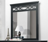 Homelegance Sanibel Black Mirror Available Online in Dallas Fort Worth Texas