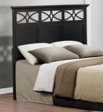 Homelegance Sanibel Black Queen / Full Headboard Available Online in Dallas Fort Worth Texas