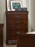 Mayville Brown Cherry Chest Available Online in Dallas Fort Worth Texas