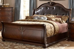 Hillcrest Dark Cherry Queen Bed Available Online in Dallas Fort Worth Texas
