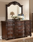 Hillcrest Dark Cherry Mirror Available Online in Dallas Fort Worth Texas