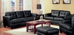 Samuel Black Sleeper Sofa & Loveseat Set Available Online in Dallas Fort Worth Texas
