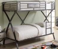 Homelegance Spaced Out Twin/Twin Bunk Bed Available Online in Dallas Fort Worth Texas