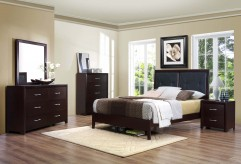 Edina Full 5pc Low Profile Bedroom Set Available Online in Dallas Fort Worth Texas