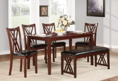 Homelegance Brooksville 6pc Dining Table Set Available Online in Dallas Fort Worth Texas