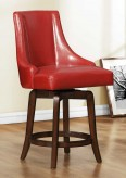 Homelegance Annabelle Red Counter Height Chair Available Online in Dallas Fort Worth Texas
