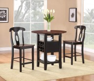 Homelegance Atwood 3pc Counter Height Set Available Online in Dallas Fort Worth Texas