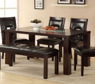 Homelegance Lee Espresso Dining Table Available Online in Dallas Fort Worth Texas