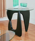 Chorus Black End Table Available Online in Dallas Fort Worth Texas