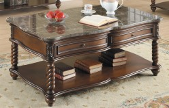 Lockwood Brown Mahogany Coffee Table Available Online in Dallas Fort Worth Texas