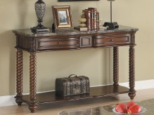 Lockwood Brown Mahogany Sofa Table Available Online in Dallas Fort Worth Texas