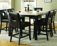 Homelegance Archstone Black Counter Height Table Available Online in Dallas Fort Worth Texas