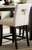 Homelegance Archstone White Counter Height Chair Available Online in Dallas Fort Worth Texas