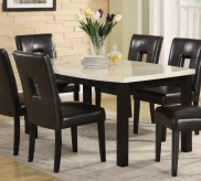 Homelegance Archstone Black Dining Table Available Online in Dallas Fort Worth Texas