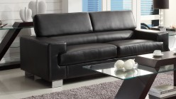 Homelegance Vernon Black Sofa Available Online in Dallas Fort Worth Texas