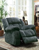 Laurelton Charcoal Glider Recliner Chair Available Online in Dallas Fort Worth Texas