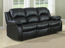 Cranley Black Reclining Sofa Available Online in Dallas Fort Worth Texas
