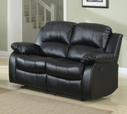Cranley Black Reclining Loveseat Available Online in Dallas Fort Worth Texas
