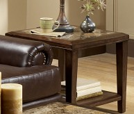 Homelegance Belvedere Espresso End Table Available Online in Dallas Fort Worth Texas