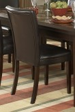 Belvedere Espresso Side Chair Available Online in Dallas Fort Worth Texas