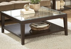 Vincent Glass Top Coffee Table Available Online in Dallas Fort Worth Texas