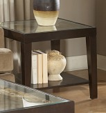 Vincent Glass Top End Table Available Online in Dallas Fort Worth Texas