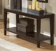 Vincent Glass Top Sofa Table Available Online in Dallas Fort Worth Texas