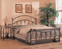 Coaster Georgia Queen Metal Bed Available Online in Dallas Fort Worth Texas