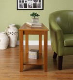 Elwell Oak Chairside Table Available Online in Dallas Fort Worth Texas