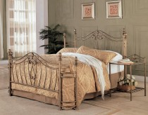 Sydney Queen Metal Bed Available Online in Dallas Fort Worth Texas