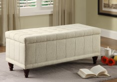 Afton Cream Lift Top Storage Bench Available Online in Dallas Fort Worth Texas
