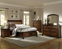 Cumberland 5pc King Platform Storage Bedroom Group Available Online in Dallas Fort Worth Texas