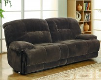 Homelegance Geoffrey Chocolate Double Reclining Sofa Available Online in Dallas Fort Worth Texas