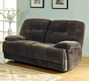 Homelegance Geoffrey Chocolate Double Reclining Love Seat Available Online in Dallas Fort Worth Texas